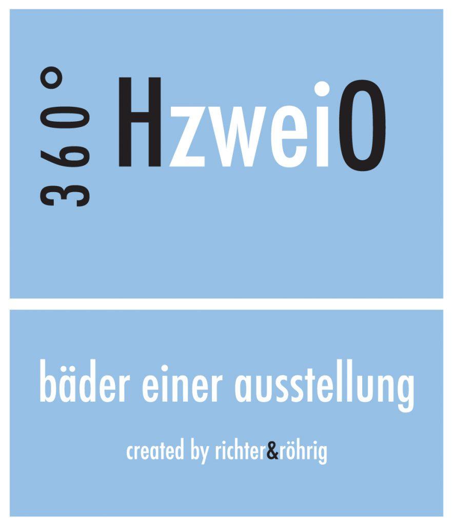 Logo 360°HzweiO Bäderausstellungen