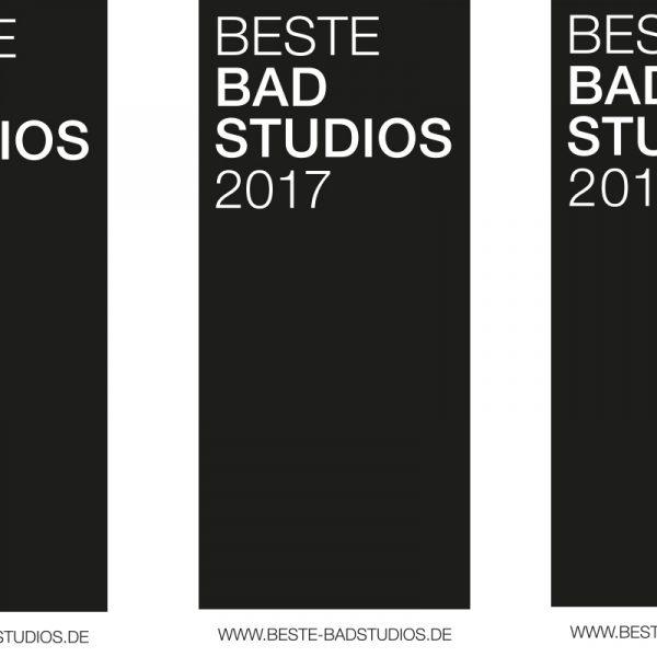 Beste Badstudios 2016 bis 2018 - 360°HzweiO Bäderausstellungen sind ausgezeichnet!