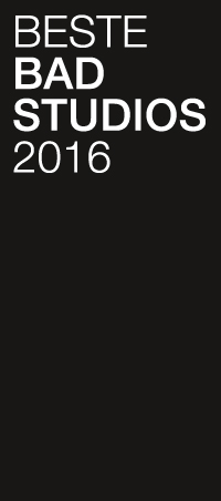 Beste Badstudios 2016 - Auszeichnung für die 360°HzweiO Bäderausstellungen der Richter & Röhrig GmbH